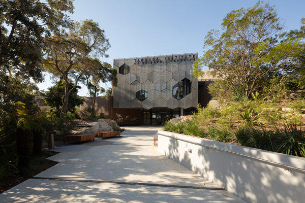 Taronga Institute of Science and Learning facade