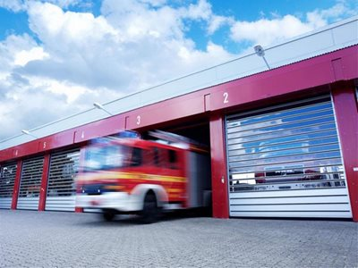 DMF Efaflex High-Speed Doors Emergency Services