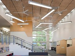 SUPATILE DIT: Feature drop-in ceiling tiles