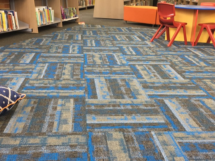 Let Bright Lights Carpet Tile range illuminate your floors