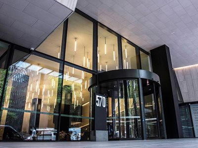 Edge Curtain Wall System Bourke Street Commercial Exterior Entrance