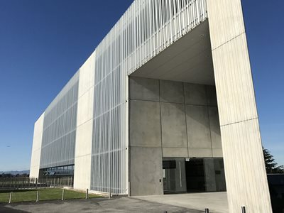 Exterior View of Waikato Law Building Using LouvreTech Facade Louvres