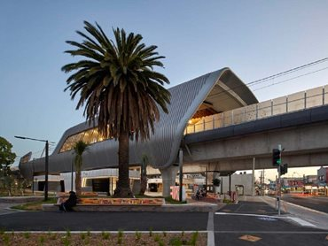 Caulfield to Dandenong Level Crossing Removal, Cox Architecture, photographer Peter Clarke