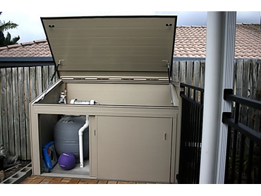 Pool Pump Housing From Apartment Storage Systems