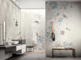 Wonderwall: Your bespoke designs perfectly translated onto thin porcelain slabs