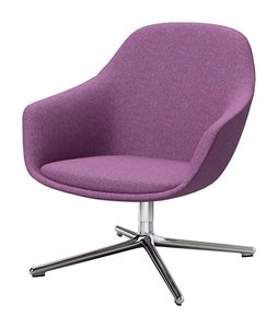 Arena Lounge 4 star base seating purple