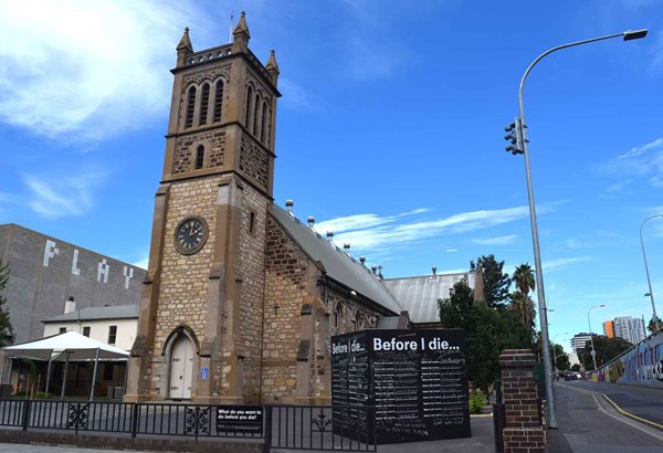 Holy Trinity Church Outside Adelaide