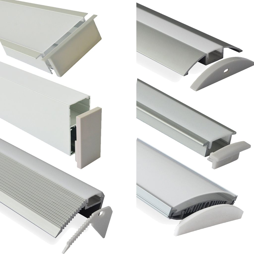 Architectural Led Track Lighting: LED Track And Strip Lighting And Wi-Fi Controllers