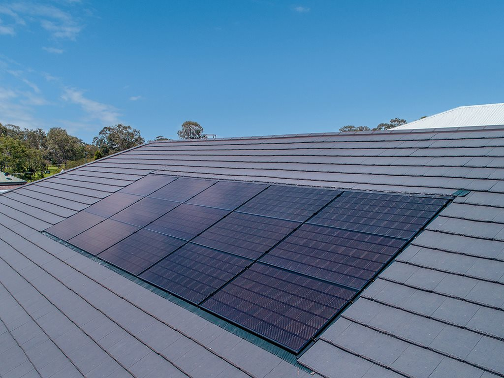 Monier InLine Solar - The power of a great looking roof