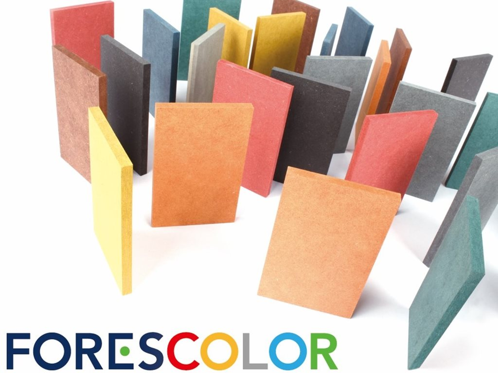 Coloured MDF - Solid colour innovation