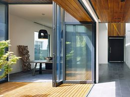 Artisan Folding Door by Capral Aluminium