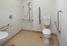 Smarter, more hygienic bathroom pods for aged care and hospital construction