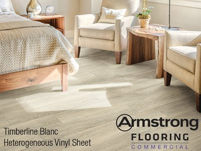 Timberline & Translations vinyl sheet flooring