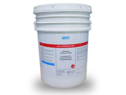 Cafco SPRAYFILM® WB3 water based intumescent coating for up to 2hrs FRL