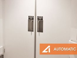 The Logic Swing Automatic Door by Auto Ingress