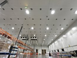 Controlled Environments insulated panels from Kingspan