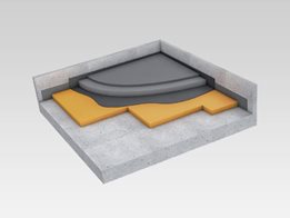 Acoustic floor underlay: Up to 33dB reduction