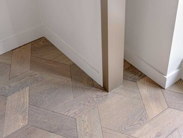 The Scattered Parquetry collection creates stunning floors