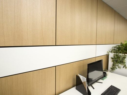 Au.diMicro: Micro-perforated acoustic panel for a solid timber look