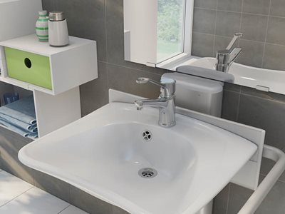 adjustable wash basin home residential
