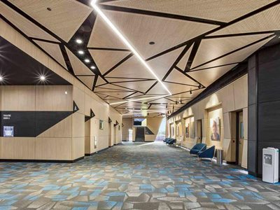 Karratha Performing Arts acoustic ceiling and wall panels