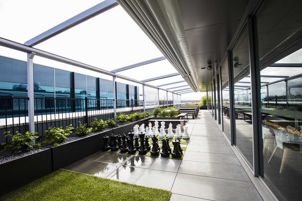 Rooftop Garden In Melbourne Fosters Office Liveability Architecture And Design