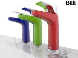 Billi Launches New Colours & Finishes Tap Range