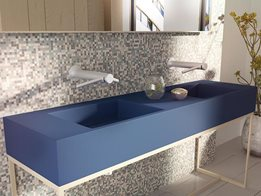 The New Corian® Multi-basin Washplane