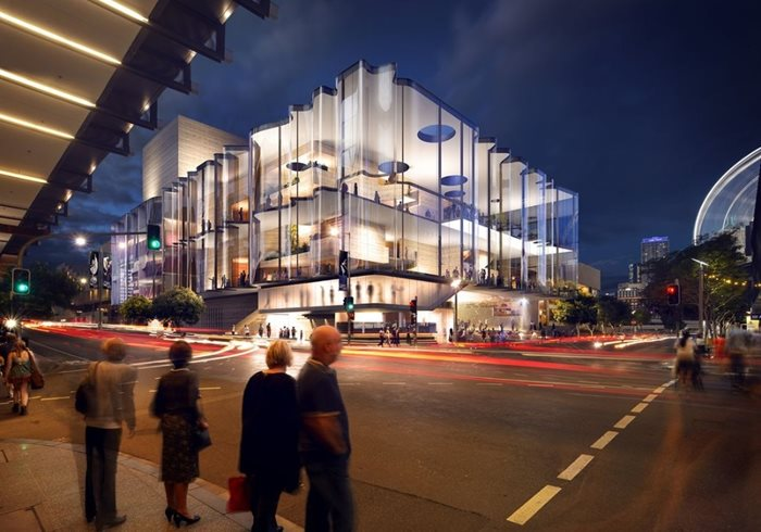 Queensland performing arts centre new theatre
