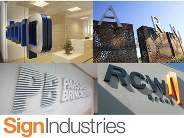 Fabricated 3 Dimensional Metal Signage and Custom Manufacturing from Sign Industries