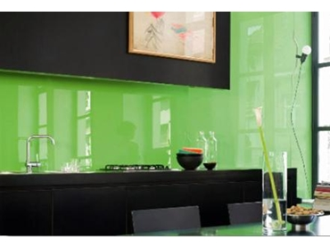 Eco-friendly Paint for Glass Splashbacks by Besser Products