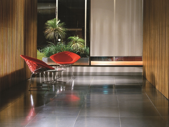 The concrete tile range