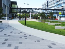 Design in concrete - Commercial paving