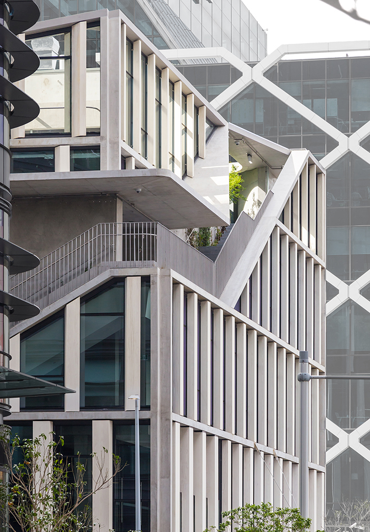 The Hidden Hinge Buildings Of Barangaroo Architecture