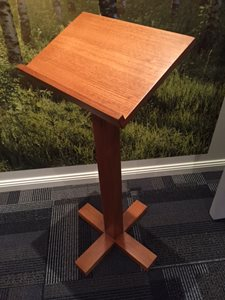 Timber Post Lectern