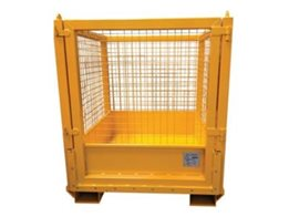 ​Spill Containment Safety Cage from Pressform
