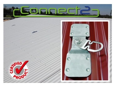 Connect2 Safety Anchor Points with Innovative Energy Absorbing Qualities