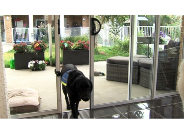 Automatic Patio Sliding Door System For New Old Homes from Autoslide l jpg