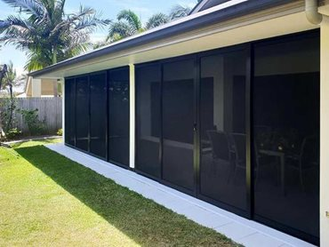 Patio security screens offer a much better and practical alternative to glazed windows