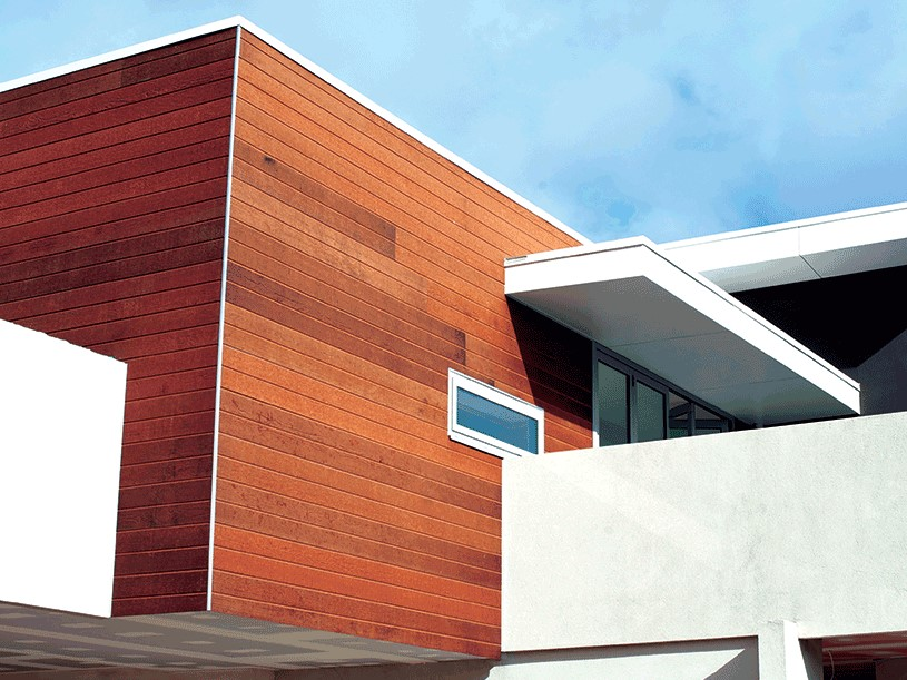 Weathertex external timber cladding is the perfect environmentally conscious material
