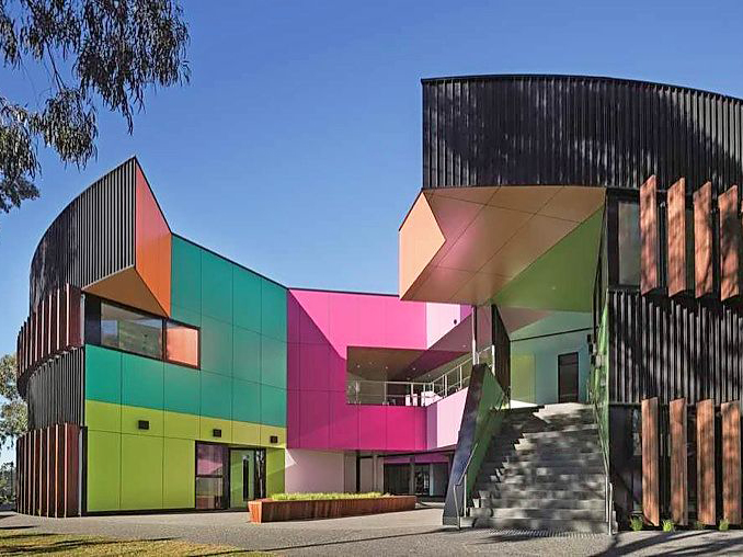Vitrapanel: A pre-finished compressed fibre cement panel