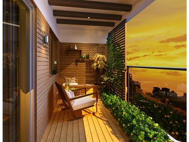 InnoWood Composite Timber Balcony Solution l