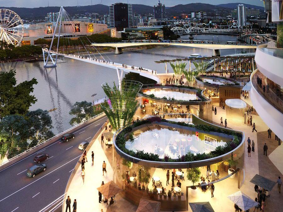 3 Billion Brisbane Wharf Redevelopment To Be The Biggest