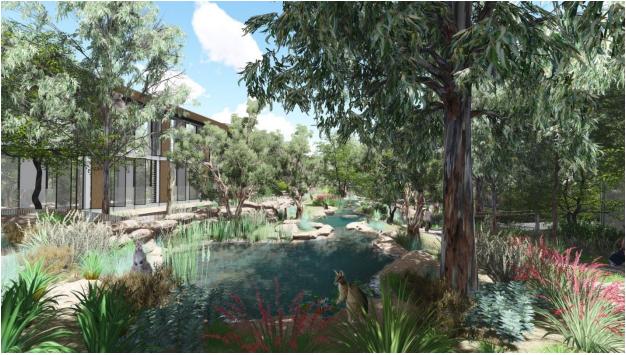 New Australian Habitat Exhibit And Eco Tourist Facility At