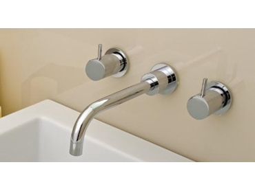 Architectural Lever Tapware with Ceramic Disc Technology from Accent International l jpg