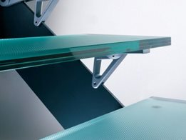 ArchiLam® anti-slip glass flooring by Glassworks