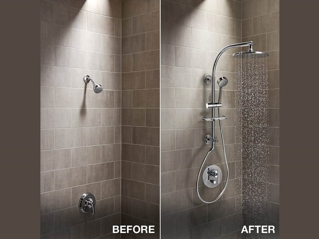 Introducing Kohler S Hydrorail Showering Architecture Design