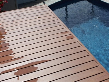 Sustainable InnoDeck composite wood decking system from Innowood