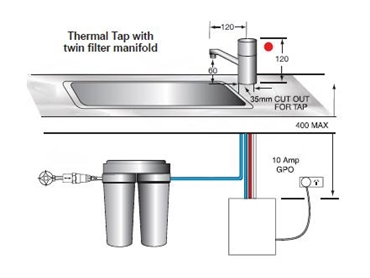 Thermal Tap for instant boiling water from Whelan Industries l jpg