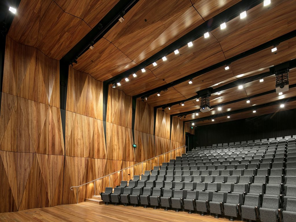 Au.diPanel: Perforated timber acoustic panel